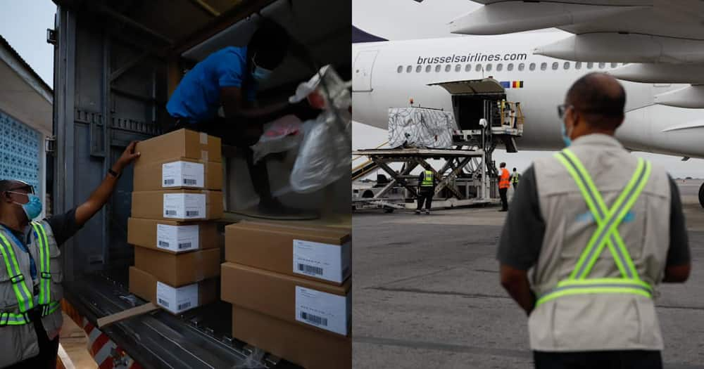 Ghana takes delivery of 98,400 doses of AstraZeneca COVID vaccines from Norway