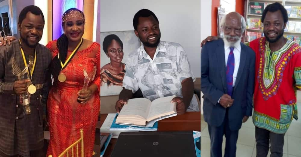 Meet Ghanaian author whose books have been accepted in libraries of Harvard, Oxford, Stanford & others