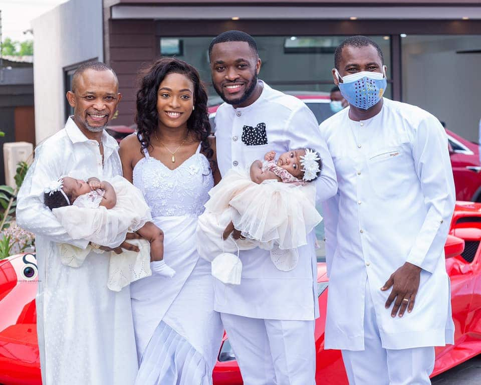 Kennedy and Tracy Osei Twins: Photos of the Couple and Babies drop