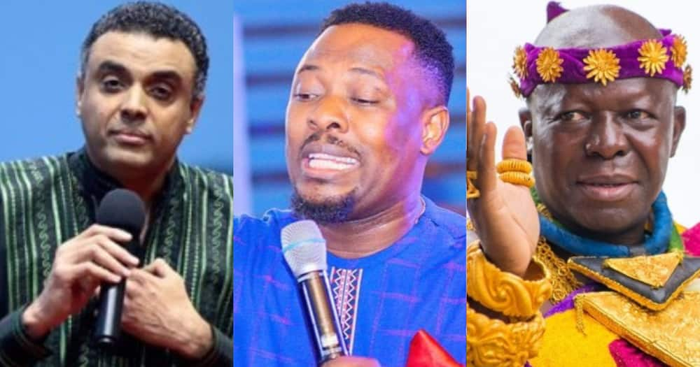 Dag Heward Mills and Otumfour: Prophet Nigel Gaisie Charges Members of Lighthouse Church to Support Pastor
