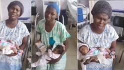 2 New Mums Get Help in Paying GHC10k Bills; Tears of Joy Flow