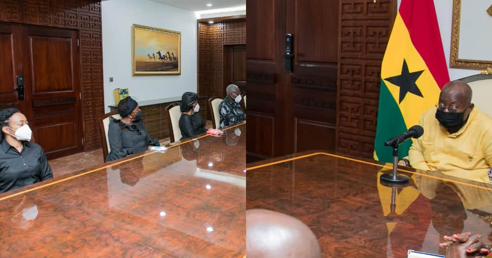Photos drop as Rawlings' family calls on Akufo-Addo after burial
