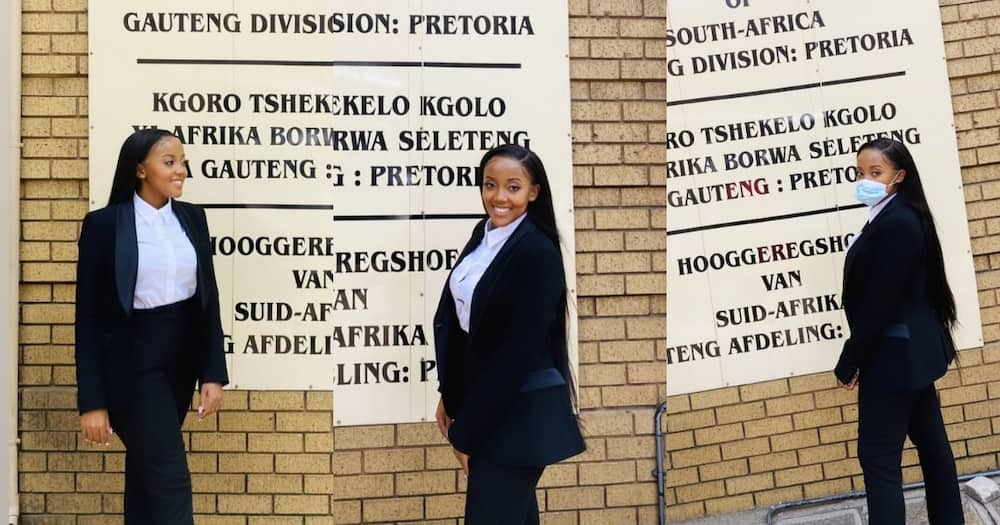 Young Lady Bursts with Pride as She Becomes Attorney of the High Court