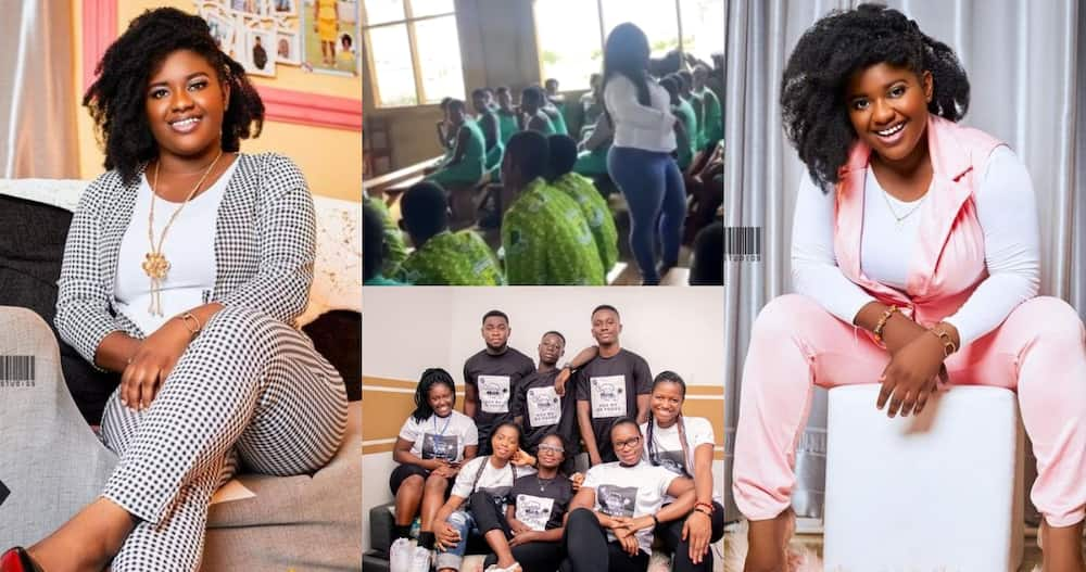 Meet Ghanaian Law graduate & NSS lady organizing free workshops to reduce unemployment