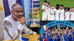 Italy vs England: Video drops as Badu Kobi bold prophecy on Euro 2020 final fails woefully