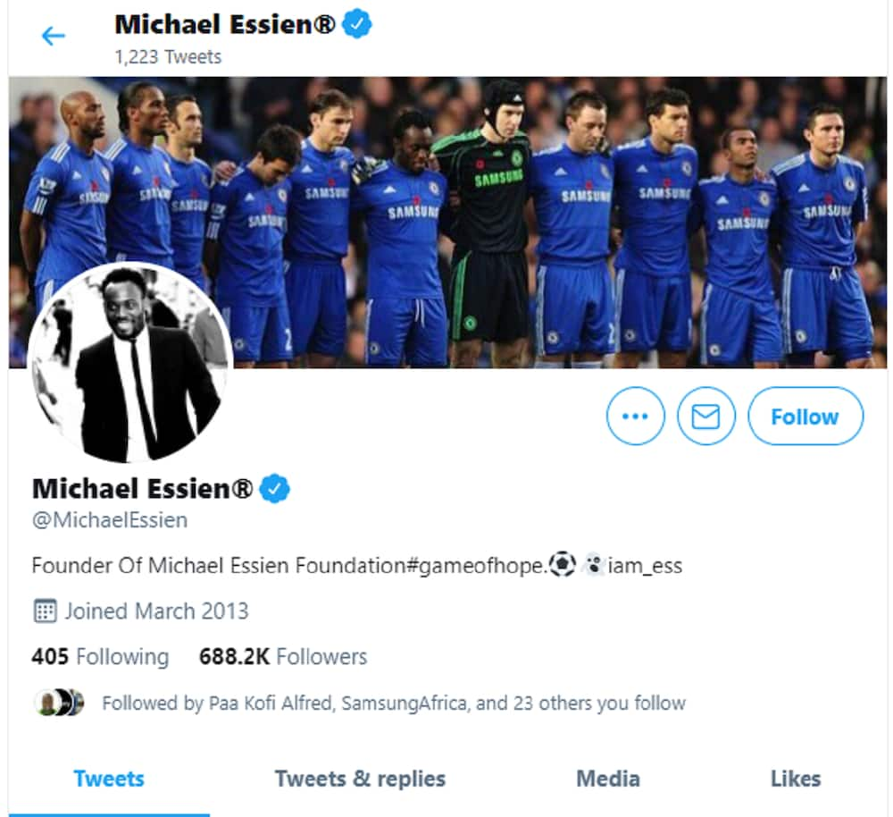 Michael Essien: Chelsea Football Legend Loses over 1 Million Social Media Followers for Supporting LGBT