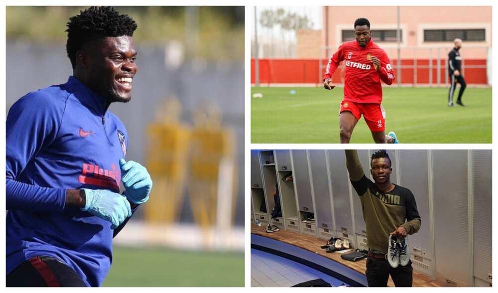 Ghanaian football players