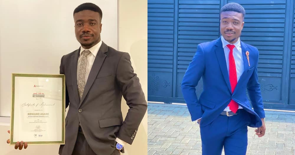 Edward Asare: Digital Marketer who Started Blogging in July 2020 Makes Ghana's top 50 Bloggers List in July 2021