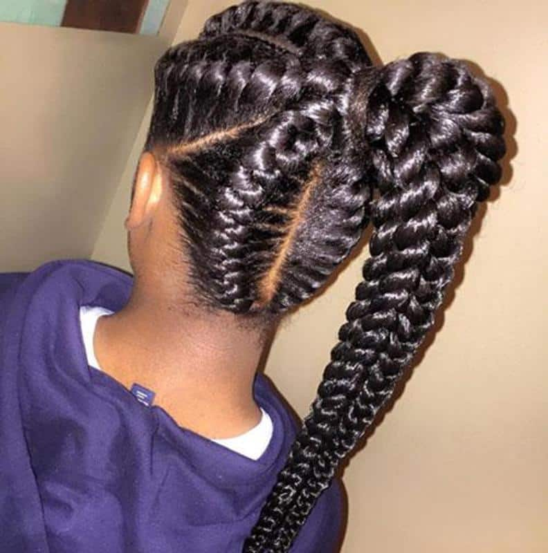 braids for African kids