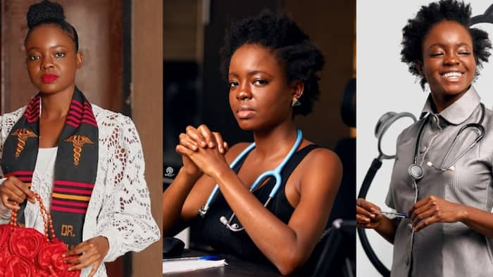 Meet the GH lady who rose above her financial struggles to become a medical doctor