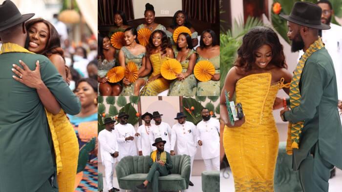 10 beautiful photos from the lavish traditional wedding of TV3 reporter's Sika Osei emerge