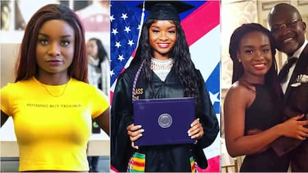 Beautiful photos drop as Ken Agyapong's daughter Anell finally graduates from university in the US