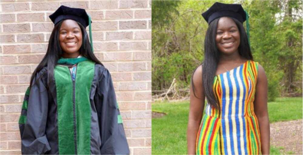 Dr Allison Adwoa Okru: Ghanaian lady graduates from Georgetown University School of Medicine