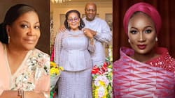 Rebecca Akufo-Addo, Lordina, other politicians share photos with sweet message to mark Father's Day