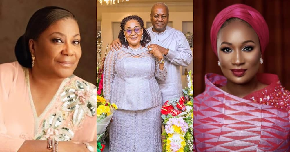 Rebecca Akufo-Addo, Lordina Mahama, other politicians share photos with sweet message to mark Father's Day