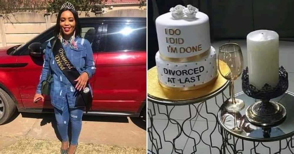 Haibo: Woman celebrates getting a divorce and Mzansi can't deal