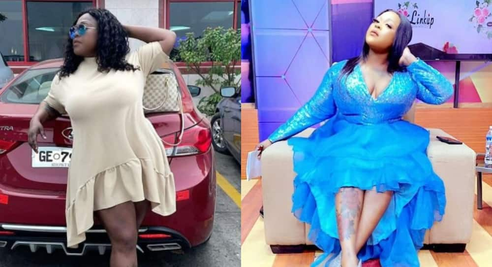 Mona Gucci flaunts her natural face; dares Afia Schwar to do same