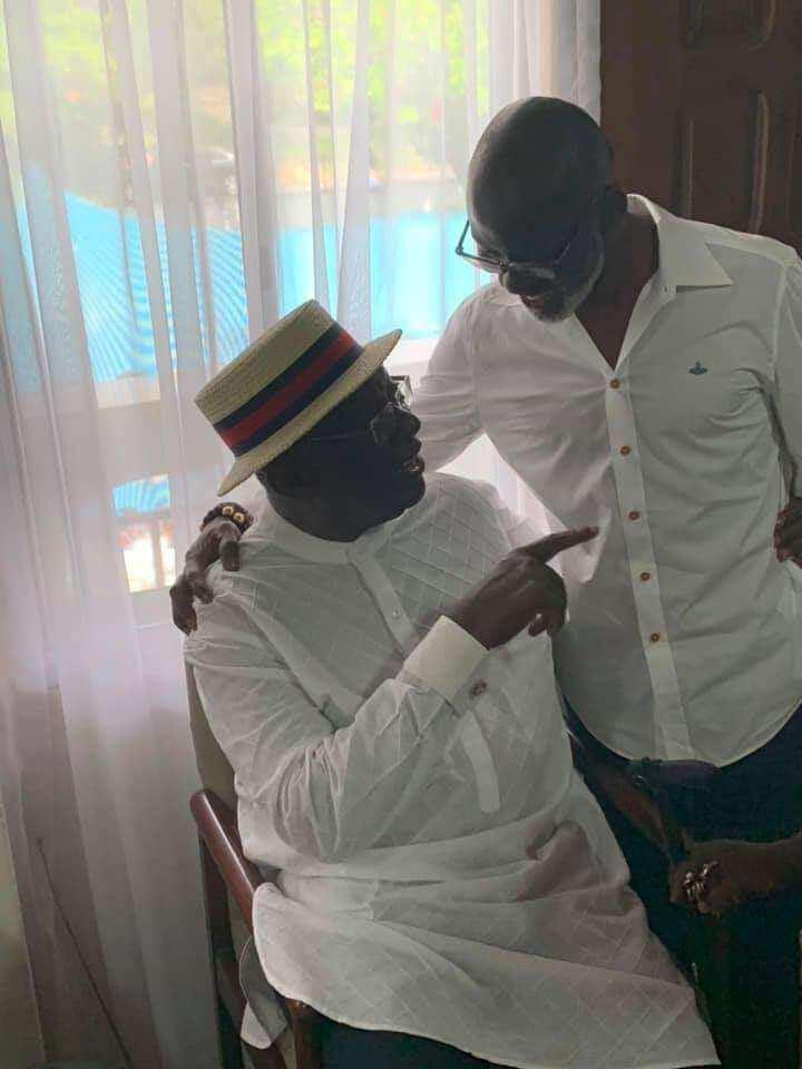Photos: Akufo-Addo, Afoko celebrate with Kufuor on his 80th birthday