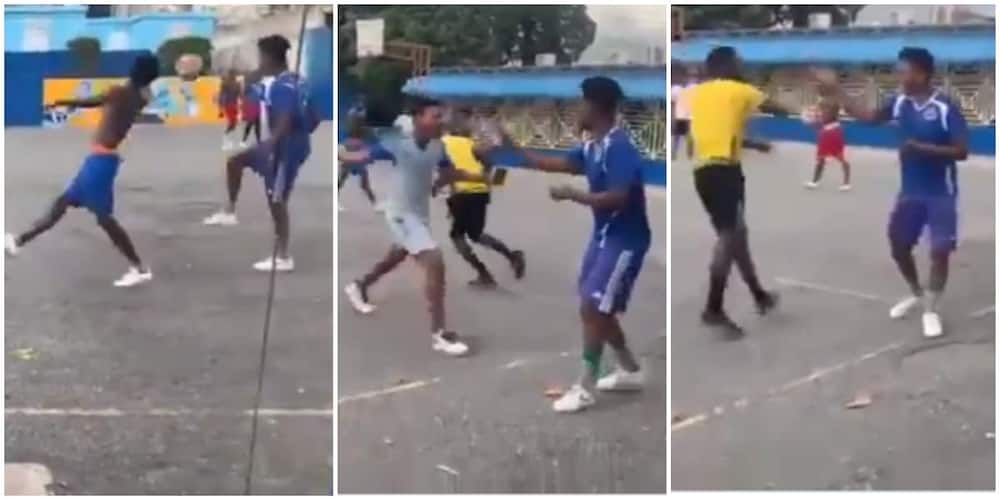 Footballer Effortlessly Dribbles His Opponent in Street Soccer, Video Stirs Reactions as Many Hail Him