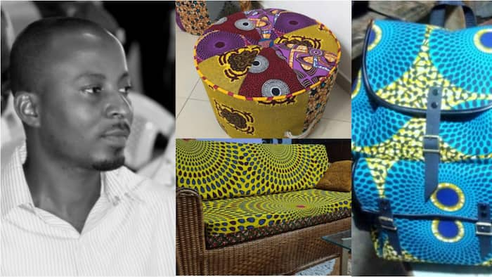 Joel Wilson: Meet the KNUST graduate turned designer who started his business with GHc100