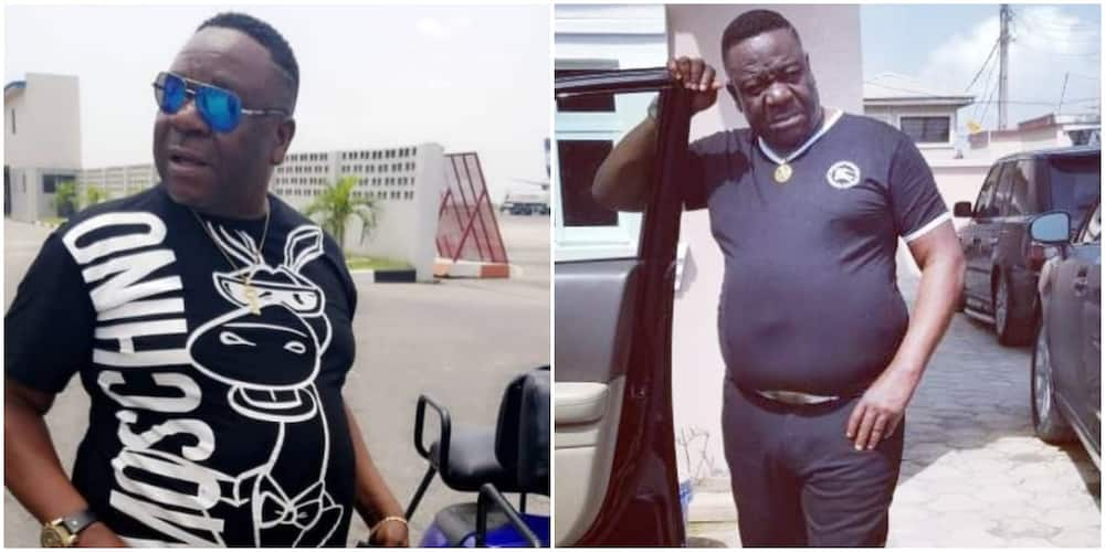 Nollywood actor 'Mr Ibu' celebrates daughter's birthday with cute photo