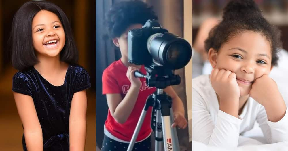 Baby Lorde: Video of Kafui Danku's Daughter Learning Photography Surfaces on the Internet