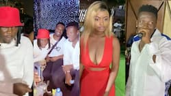Beautiful videos drop as Asamoah Gyan holds 35th birthday party with Stonebwoy, others