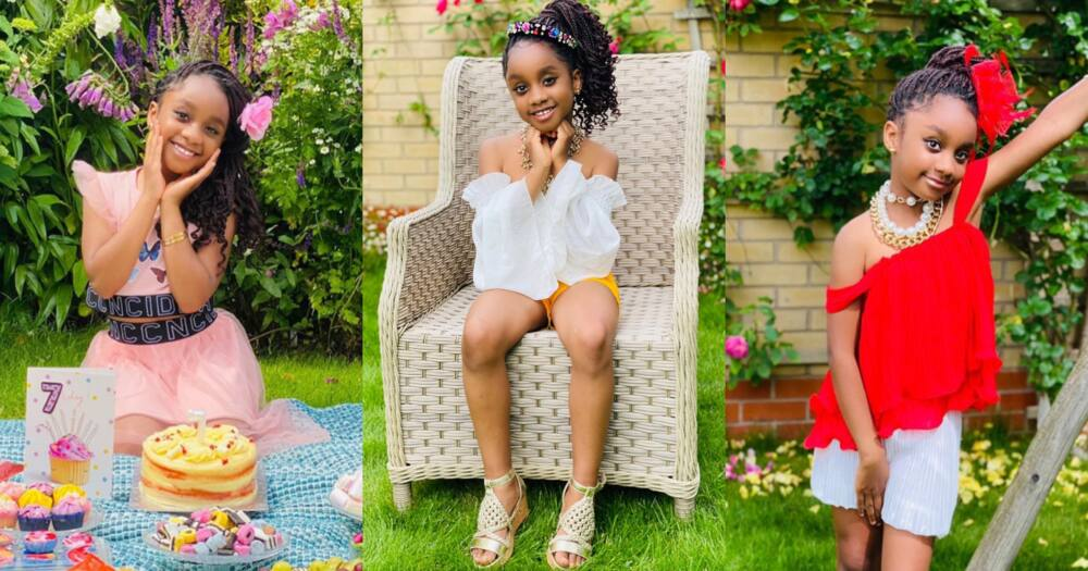 Asamoah Gyan's wife celebrates birthday of their daughter today with 8 stunning photos