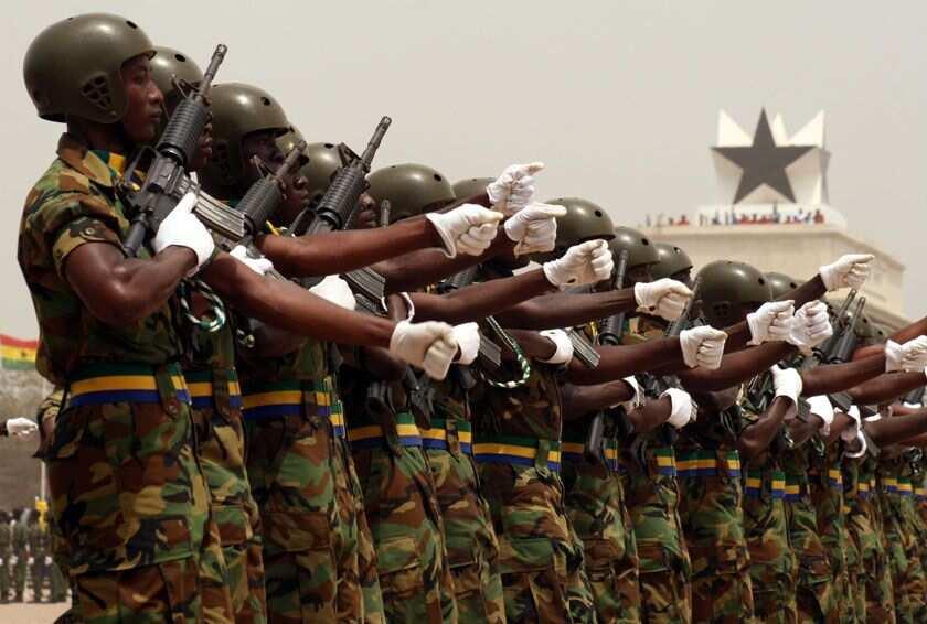 Ghana army recruitment