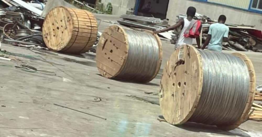 4 Chinese nationals in police grips for allegedly stealing electricity cables