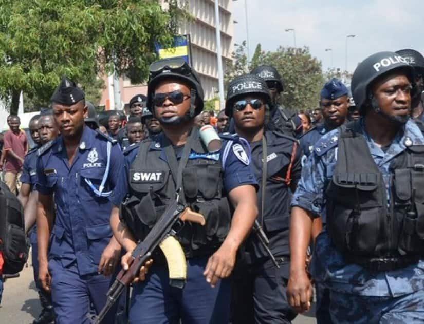 Awudome Cemetery: Robber shot by police after attacking passer-by