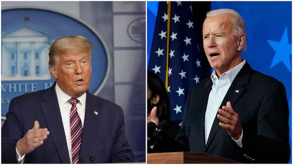 US election: Biden overtakes Trump in Georgia as vote counting continues