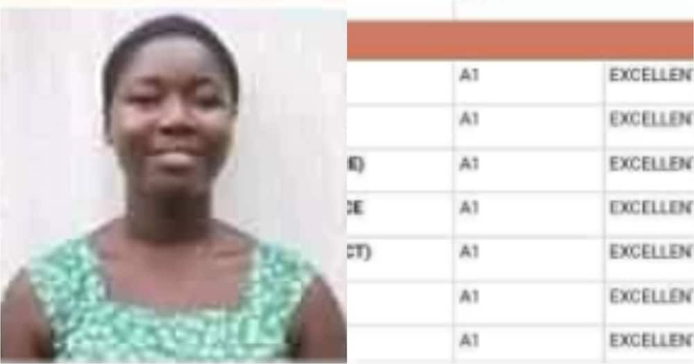 Free SHS results: Achimota student gets all As in 2020 WASSCE (Photo)