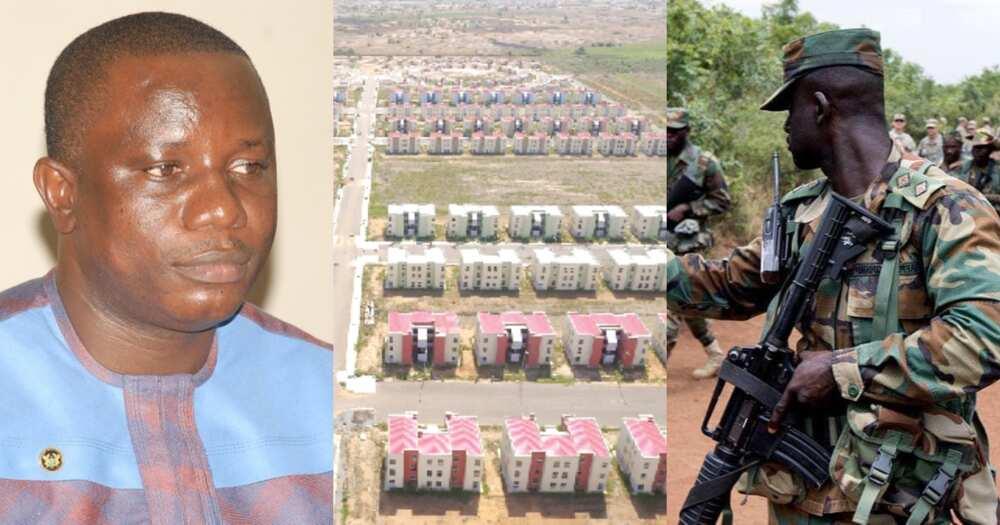 Saglemi houses should be used as military barracks – Nitiwul requests