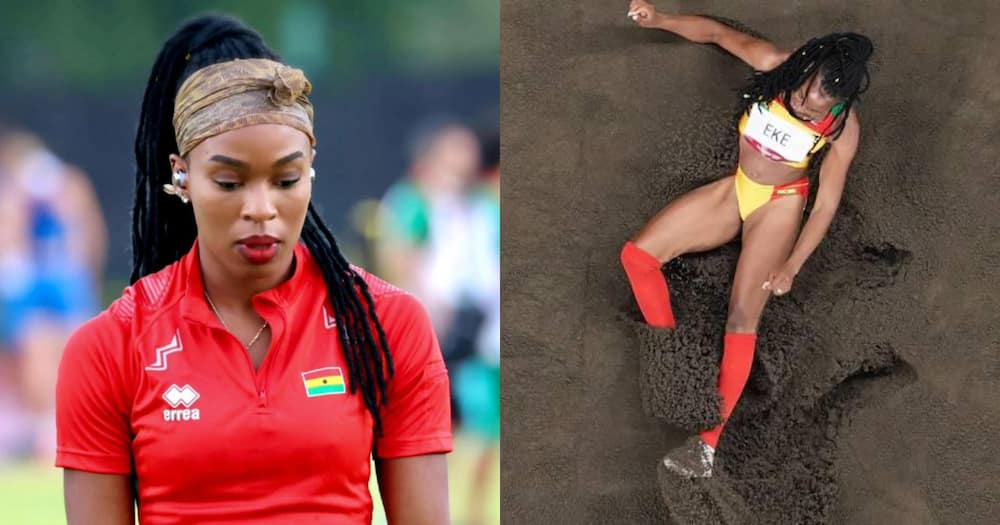 Triple jumper Nadia Eke pens emotional letter to Ghanaians after exit from Olympics