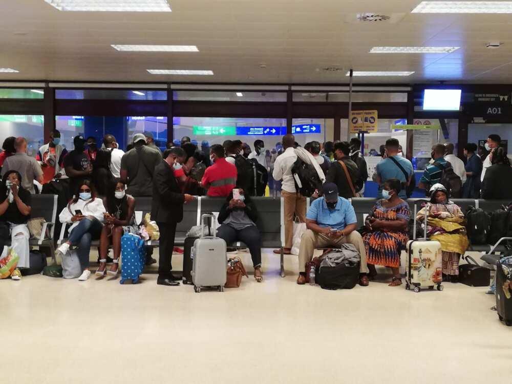 Ghanaians stranded in Spain after KLM emergency landing
