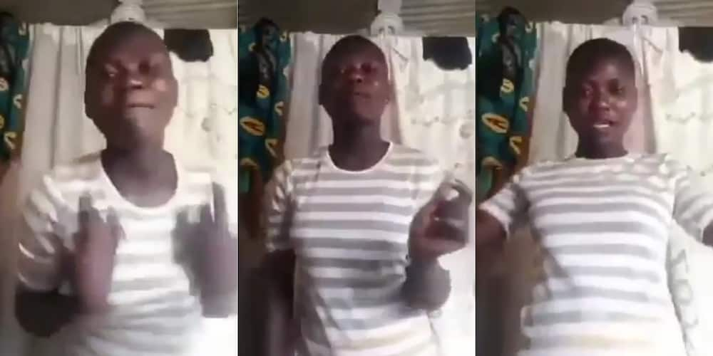 Wagyimi anaa? - Mum descends on daughter who was Snapping instead of working (video)