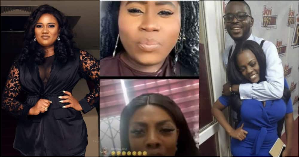 Live: Lydia Forson and Nana Aba speak in video after Abena Korkor claimed they slept with Kojo Yankson