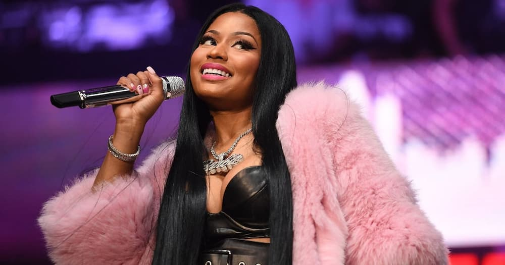 Nicki Minaj shares video of her adorable son trying to take first steps