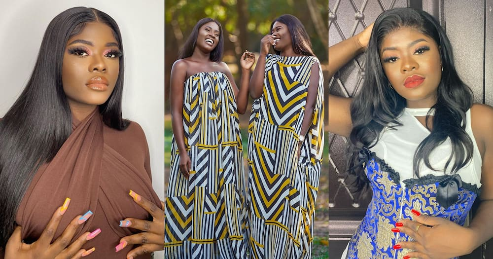 Fendy Fella: 9 Photos Of Fella Makafui's Sister Which Shows Beauty Runs In Their Family