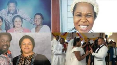 TB Joshua: Photos Emerge of Late Televangelist and Philanthropist's Wife and 3 Children; 1 is a Lawyer