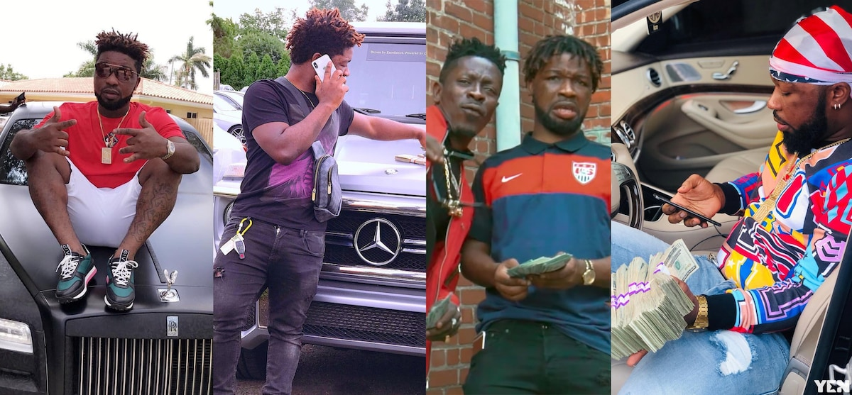 7 photos of murdered Shatta Wale's friend that prove he was filthy rich
