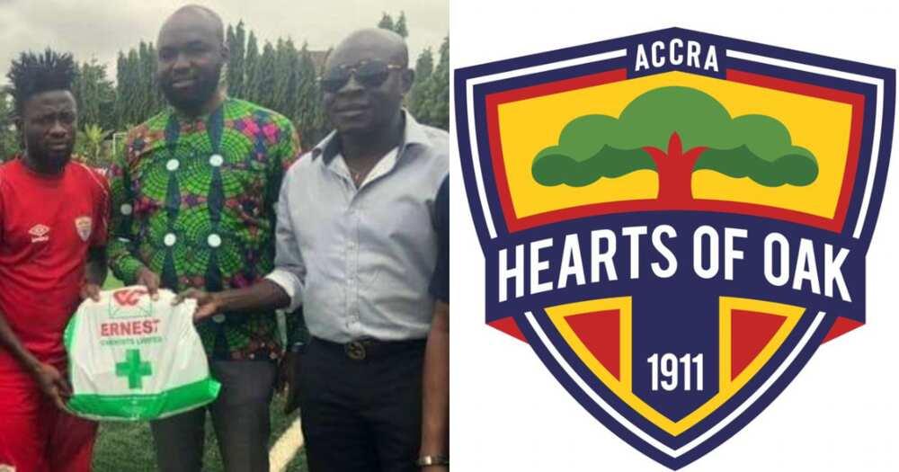 Bank Alert: Ernest Chemist furnishes Hearts of Oak 20k for winning league