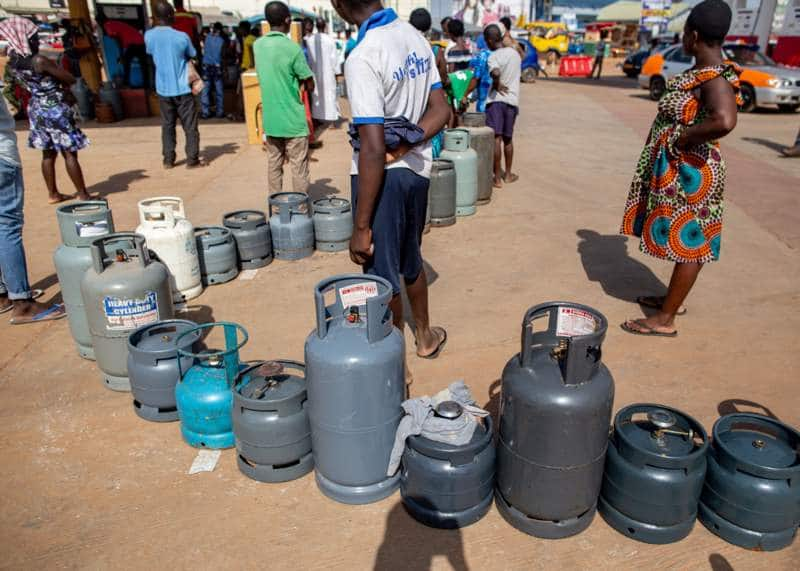 Gas shortage hits Greater Accra, Central and Western regions; customers stranded