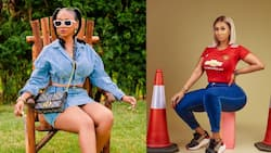 Golden Girl: Hajia4reall takes over social media with photos dressed in 'gold nkoaa'