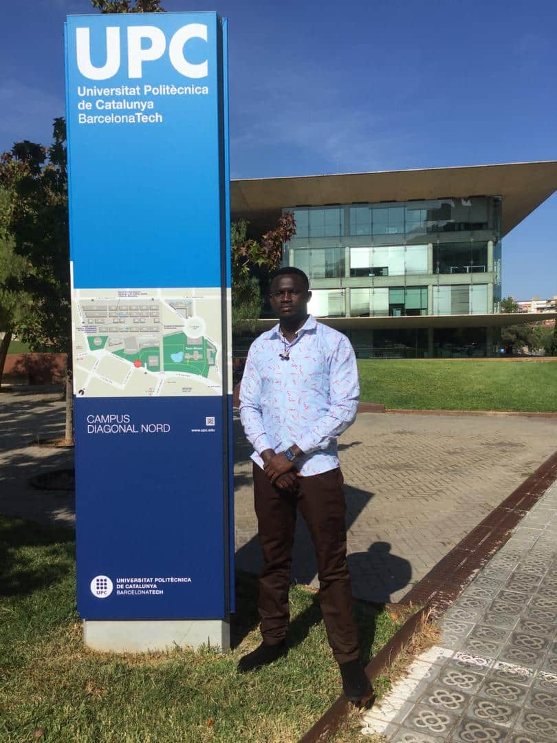 The condition of a Ghanaian student studying in Barcelona, Spain - Emmanuel Bartels Ankrah