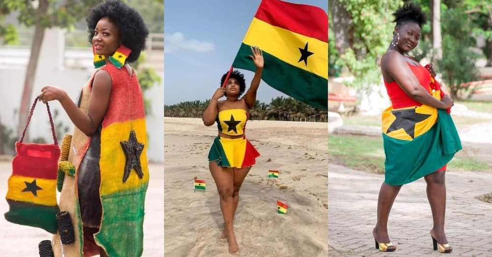 Beautiful Ghanaian ladies shut down the net with Independence Day photos