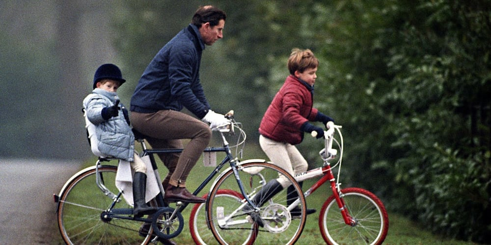Prince Harry Called Out for Lying About Never Riding Bike as a Child