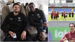 Europa League final: Unai Emery makes crucial changes to Arsenal squad as Gunners battle Chelsea in Baku