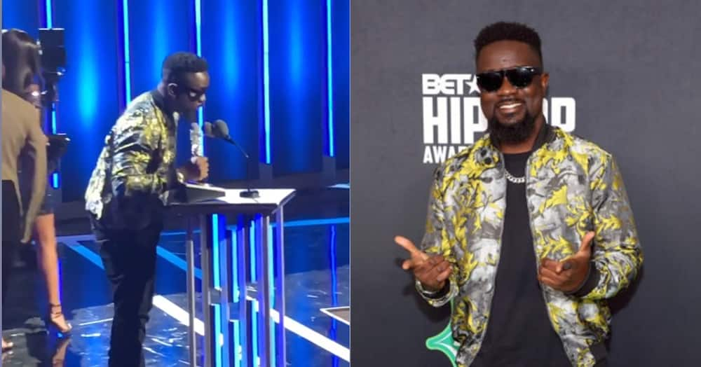 where is sarkodie now